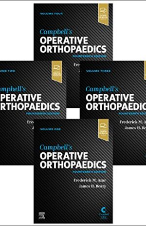 CAMPBELL'S OPERATIVE ORTHOPAEDICS WITH ONLINE ACCESS 4 VOLS SET 14TH ED